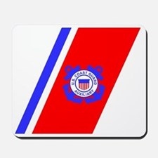 USCGAux-Black-Shirt-4 Mousepad