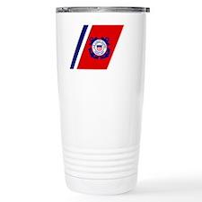USCGAux-Racing-Stripe-Black-Cap Thermos Mug