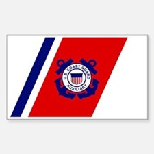 USCGAux-Racing-Stripe-Black-Ca Decal