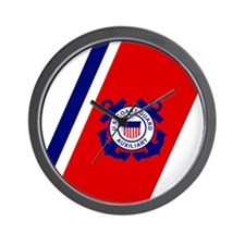 USCGAux-Racing-Stripe-Mousepad.gif Wall Clock
