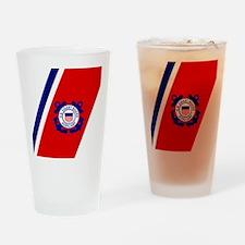 USCGAux-Racing-Stripe-Mousepad.gif Drinking Glass