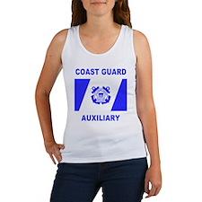 USCGAux-Black-Shirt-6 Women's Tank Top