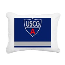 USCGAux-Rank-FSO-Greetin Rectangular Canvas Pillow