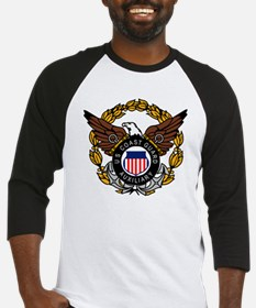 USCGAux-Eagle-Colored.gif Baseball Jersey