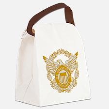 USCGAux-Eagle-Silver.gif Canvas Lunch Bag