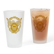 USCGAux-Eagle-Silver.gif Drinking Glass