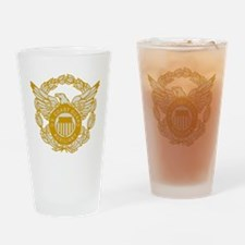 USCGAux-Eagle-Silver.gif Drinking Glass