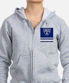USCGAux-Rank-VFC-Journal.gif Zip Hoodie