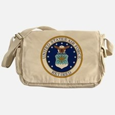 USAF-Retired-Bonnie.gif Messenger Bag
