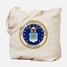 USAF-Retired-Bonnie.gif Tote Bag