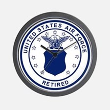 USAF-Retired-Blue-Bonnie.gif Wall Clock