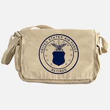 USAF-Retired-Blue-Bonnie.gif Messenger Bag