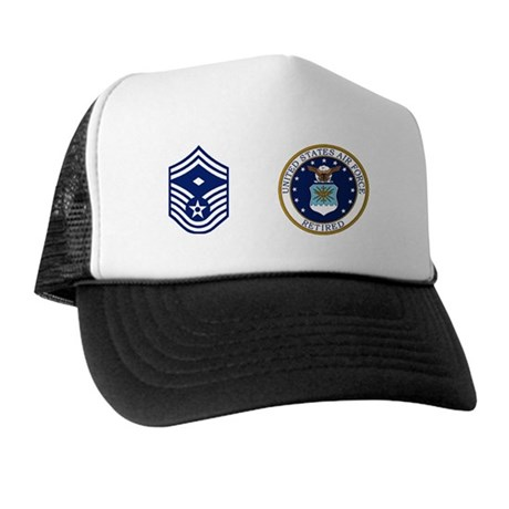 USAF-Retired-1SgtE8-Mug.gif Trucker Hat