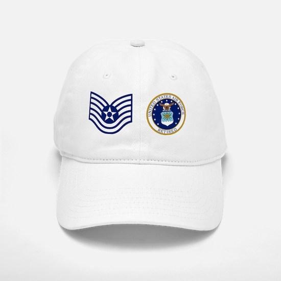 USAF-Retired-TSgt-Mug.gif Baseball Baseball Cap