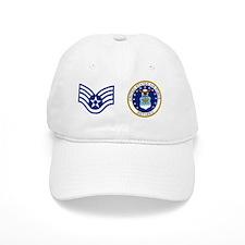 USAF-Retired-SSgt-Mug.gif Baseball Cap