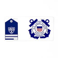 USCGAux-Rank-FC-Mug.gif Aluminum License Plate