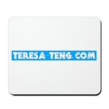 Teresa-Teng.com Mousepad