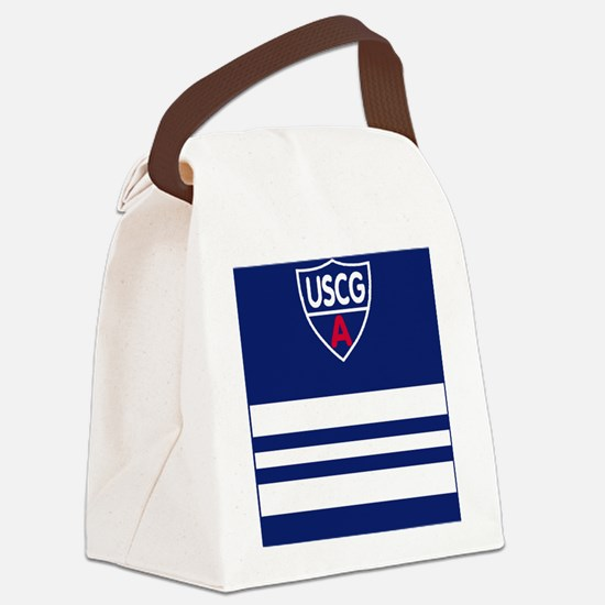 USCGAux-Rank-DSO-Magnet.gif Canvas Lunch Bag