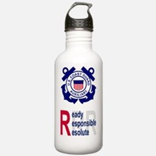 USCGAux-RRR-Journal.gi Water Bottle