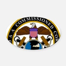 NOAA-Officer-Seal-Messenger.gif Oval Car Magnet