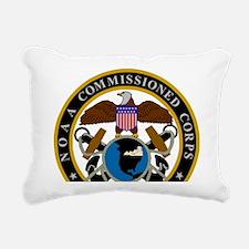 NOAA-Officer-Seal-Messen Rectangular Canvas Pillow