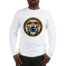 NOAA-Officer-Black-Shirt Long Sleeve T-Shirt