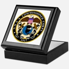 NOAA-Officer-Black-Shirt Keepsake Box