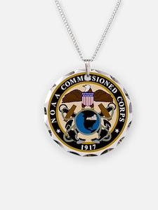 NOAA-Officer-Black-Shirt Necklace