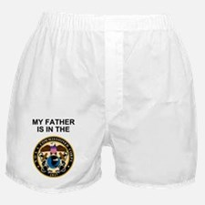 NOAA-Officer-My-Father.gif Boxer Shorts