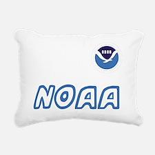 NOAA-Black-Shirt-2 Rectangular Canvas Pillow