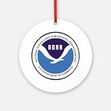NOAA-Emblem-XX.gif Round Ornament