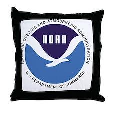 NOAA-Button.gif Throw Pillow