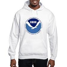 NOAA-Black-Shirt Hoodie