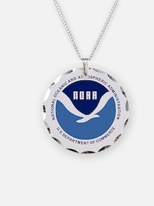 NOAA-Black-Shirt Necklace