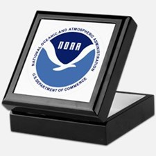 NOAA-Black-Shirt Keepsake Box