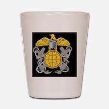 NOAA-Officer-Black-Cap.gif Shot Glass