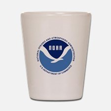 NOAA-Black-Shirt Shot Glass