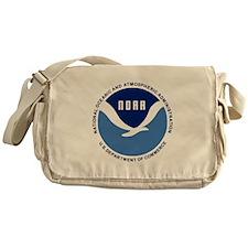 NOAA-Black-Shirt Messenger Bag