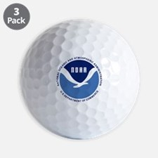 NOAA-Black-Shirt Golf Ball