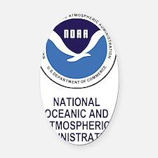 NOAA-Journal.gif Oval Car Magnet