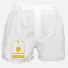 NOAA-LCDR-Black-Shirt Boxer Shorts