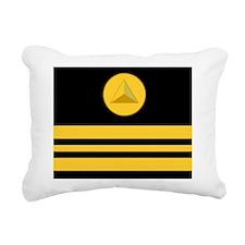NOAA-LCDR-Mousepad.gif Rectangular Canvas Pillow