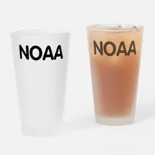 NOAA-Text-Shirtback.gif Drinking Glass