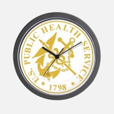 USPHS-Black-Shirt-4 Wall Clock