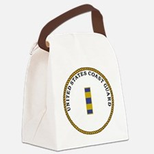 USCG-CWO2-Circle.g... Canvas Lunch Bag
