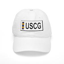 USCG-CWO2-Nametag-W... Baseball Cap