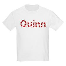 Quinn - Candy Cane Kids T-Shirt