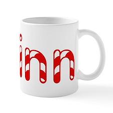 Quinn - Candy Cane Mug