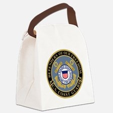 USCG-Defenders-Black-Blue.gif Canvas Lunch Bag