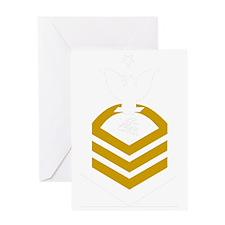 USCG-TCCS-Black-Shirt Greeting Card